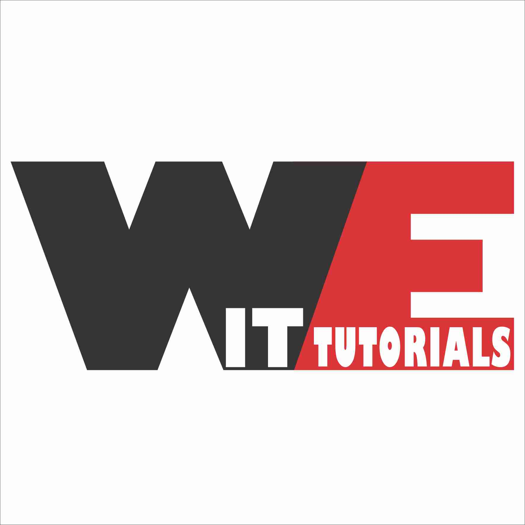 WE-IT TUTORIALS